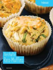 Rezept - Herzhafte Reis-Muffins - Simply Kochen mit und für Kinder - mit Nina Kämpf von Mamaaempf