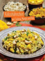 Rezept - Kokoshähnchen mit Cashew, Mango und Reis - Simply Kochen mit und für Kinder - mit Nina Kämpf von Mamaaempf
