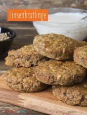 Rezept - Linsenbratlinge - Simply Kochen mit und für Kinder - mit Nina Kämpf von Mamaaempf
