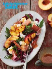 Rezept - Radicchio-Nektarinen-Salat mit - Simply Kreativ Sonderheft Best of CraSy Sylvie