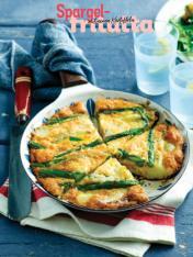 Rezept - Spargel-Fritatta mit neuen Kartoffeln - Simply Kochen Special Spargel