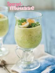 Rezept - Spargelmousse mit Wachtelei und Kresse - Simply Kochen Special Spargel