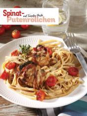 Rezept - Spinat-Putenröllchen auf Tomaten-Pasta - Simply Kochen Sonderheft So schmeckt der Frühling