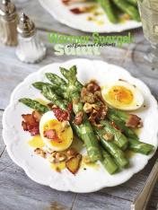 Rezept - Warmer Spargel-Salat mit Bacon und Haselnuss - Simply Kochen Special Spargel