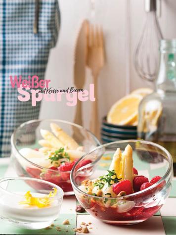Rezept - Weißer Spargel mit Kresse und Beeren - Simply Kochen Special Spargel