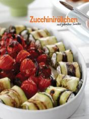 Rezept - Zucchiniröllchen und gebratene Tomaten - Simply Kochen Sonderheft So schmeckt der Frühling