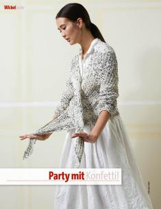 Strickanleitung - Party mit Konfetti - Fantastische Sommer-Strickideen 03/2019