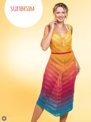 Häkelanleitung - Sunbeam - Simply Kreativ Häkeln mit Farbverlaufs-Bobbeln Vol. 3 Heft 03/2019