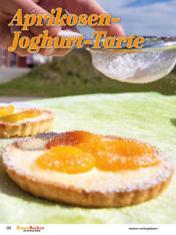 Rezept - Aprikosen-Joghurt-Tarte - Simply Backen Sonderheft Besser Backen mit Tommy Weinz