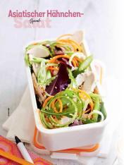 Rezept - Asiatischer Hähnchen-Spiral-Salat - Simply Kochen Sonderheft Salate to go