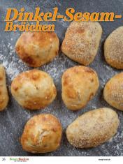 Rezept - Dinkel-Sesam-Brötchen - Brote Backen mit Tommy Weinz - 02/2019