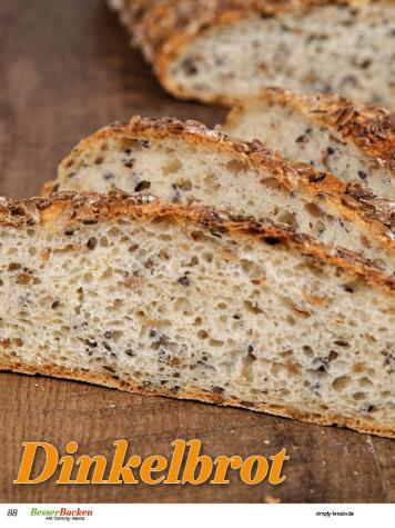 Rezept - Dinkelbrot - Brote Backen mit Tommy Weinz - 02/2019