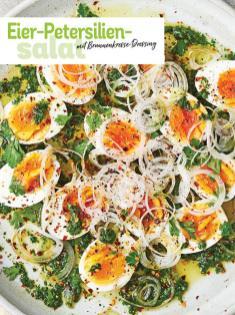 Rezept - Eier-Petersilien-Salat mit Brunnenkresse-Dressing - Simply Kochen Picknick - 03/2019