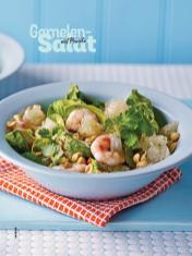 Rezept - Garnelen-Salat mit Pomelo - Simply Kochen Sonderheft Salate to go