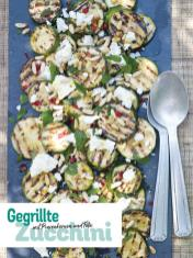 Rezept - Gegrillte Zucchini mit Pinienkernen und Feta - Simply Kochen Picknick - 03/2019