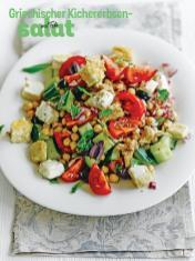 Rezept - Griechischer Kichererbsen-Salat mit Feta - Simply Kochen Sonderheft Salate to go