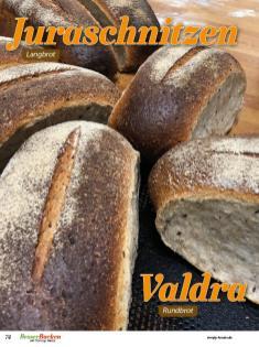 Rezept - Juraschnitzen und Valdra - Brote Backen mit Tommy Weinz - 02/2019