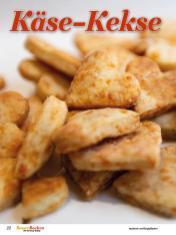 Rezept - Käse-Kekse - Simply Backen Sonderheft Besser Backen mit Tommy Weinz