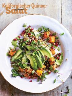 Rezept - Kalifornischer Quinoa-Salat mit Avocado - Simply Kochen Sonderheft Salate to go