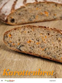 Rezept - Karottenbrot - Brote Backen mit Tommy Weinz - 02/2019