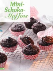 Rezept - Mini Schoko-Muffins - Simply Backen 03/2019