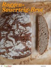 Rezept - Roggen-Sauerteig-Brot - Brote Backen mit Tommy Weinz - 02/2019