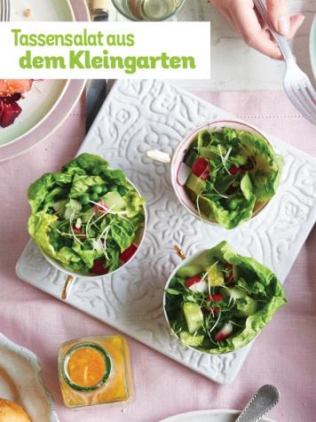 Rezept - Tassensalat aus dem Kleingarten - Simply Kochen Picknick - 03/2019