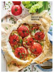 Rezept - Tomaten mit Kichererbsenfüllung - Bewusst Low Carb – 05/2019