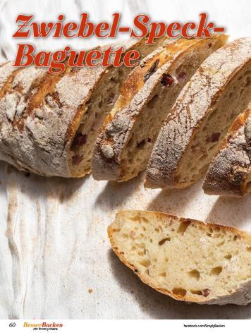 Rezept - Zwiebel-Speck-Baguette - Simply Backen Sonderheft Besser Backen mit Tommy Weinz