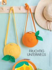 Nähanleitung - Fruchtig unterwegs - Simply Kreativ Heft 03/2019