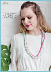 Nähanleitung - Halskette - Simply Nähen 04/2019