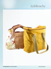 Nähanleitung - Kühltasche - Simply Kreativ Best of Taschen-Näh-Ideen