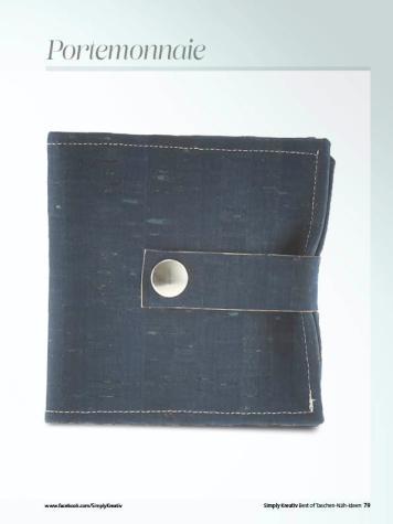 Nähanleitung - Portemonnaie - Simply Kreativ Best of Taschen-Näh-Ideen