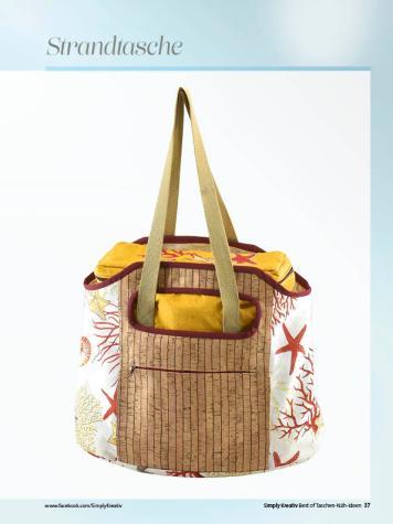 Nähanleitung - Strandtasche - Simply Kreativ Best of Taschen-Näh-Ideen