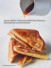 Rezept - Armer Ritter mit karamellisierter Banane, Ahornsirup und Rauchsalz - Healthy Vegan Sonderheft - Sommerspecial