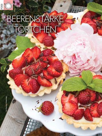 Rezept - Beerenstarke Törtchen - Simply Kreativ Heft 03/2019