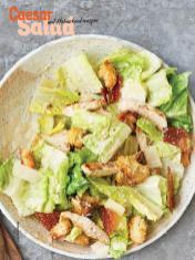 Rezept - Ceasar-Salat mit Hähnchenknusper - Simply Kochen Sonderheft Sommer-Salate