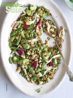 Rezept - Freekeh-Salat mit Salsa-Verde - Simply Kochen Sonderheft Sommer-Salate