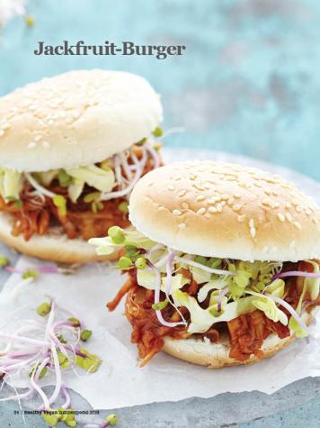 Rezept - Jackfruit-Burger - Healthy Vegan Sonderheft - Sommerspecial