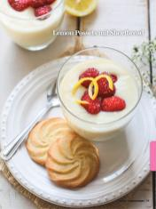 Rezept - Lemon-Possets mit Shortbread - Healthy Vegan Sonderheft - Sommerspecial