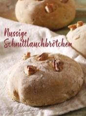 Rezept - Nussige Schnittlauchbrötchen - Simply Kochen Sonderheft Sommerrezepte