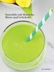 Rezept - Smoothie mit Mandeln, Birne und Grünkohl - Healthy Vegan Sonderheft - Sommerspecial