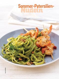 Rezept - Sommer-Petersilien-Nudeln - Simply Kochen Sonderheft Nudeln