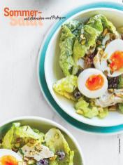 Rezept - Sommer-Salat mit Hähnchen und Pistazien - Simply Kochen Sonderheft Sommer-Salate