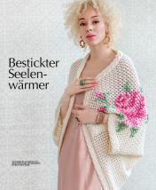 Strickanleitung - Bestickter Seelenwaermer - Designer Knitting 04/2019