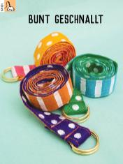 Nähanleitung - Bunt geschnallt - Simply Kreativ Heft 03/2019