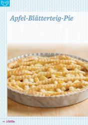 Backanleitung - Apfel-Blätterteig-Pie - Das große Backen 05/2019