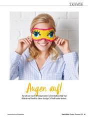 Häkelanleitung - Augen auf! - Simply Häkeln - 06/2019