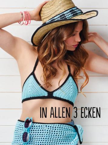 Häkelanleitung - In allen 3 Ecken - Best of Simply Häkeln Sommer 02/2019