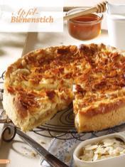 Rezept - Apfel-Bienenstich - Simply Backen Sonderheft Kuchen Äpfel + Pflaumen